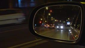 Καθρέφτης της οδήγησης αυτοκινήτων φιλμ μικρού μήκους