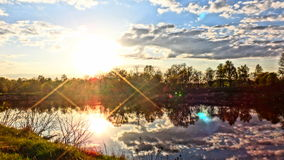 Καθρέφτης της φύσης Στοκ εικόνες με δικαίωμα ελεύθερης χρήσης