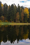 Καθρέφτης φθινοπώρου Στοκ Φωτογραφίες
