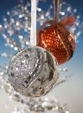 καθρέφτης Χριστουγέννων μ& στοκ φωτογραφίες με δικαίωμα ελεύθερης χρήσης