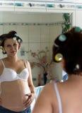 καθρέφτης στοκ εικόνα με δικαίωμα ελεύθερης χρήσης