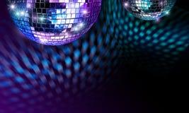 καθρέφτης disco σφαιρών Στοκ Φωτογραφίες
