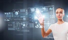 Καινοτόμες τεχνολογίες σε λειτουργία Στοκ Εικόνα
