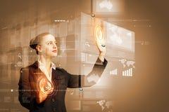 καινοτόμες τεχνολογίε&si Στοκ φωτογραφία με δικαίωμα ελεύθερης χρήσης