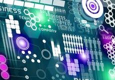 καινοτόμες τεχνολογίε&si Στοκ Εικόνες