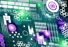 καινοτόμες τεχνολογίε&si Στοκ εικόνες με δικαίωμα ελεύθερης χρήσης