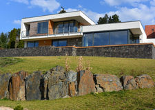 Καινούργιο σπίτι Στοκ φωτογραφίες με δικαίωμα ελεύθερης χρήσης