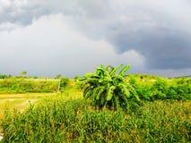 Καιρικά σύννεφα μουσώνα στοκ εικόνα με δικαίωμα ελεύθερης χρήσης