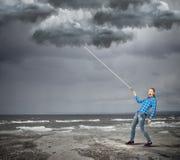 Καιρική έννοια Στοκ φωτογραφίες με δικαίωμα ελεύθερης χρήσης