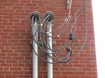 Καιρικό κεφάλι ηλεκτρικής δύναμης Στοκ εικόνα με δικαίωμα ελεύθερης χρήσης