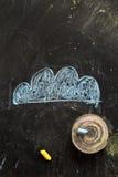 καιρός ήλιων βροχής εικονιδίων σύννεφων Στοκ εικόνα με δικαίωμα ελεύθερης χρήσης