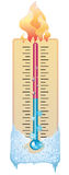 καιρός θερμομέτρων Στοκ εικόνα με δικαίωμα ελεύθερης χρήσης