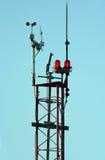 καιρός πύργων ελέγχου Στοκ εικόνες με δικαίωμα ελεύθερης χρήσης