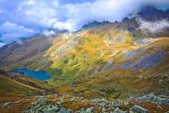 Καιρός στα βουνά Στοκ Εικόνα
