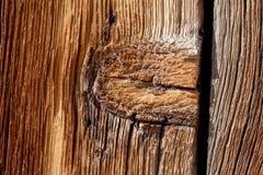 Καιρός-φορεμένος ξύλινος πίνακας Στοκ φωτογραφία με δικαίωμα ελεύθερης χρήσης