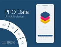 Καιρός UI Υλικό σχέδιο διάνυσμα χρήσης αποθεμάτων απεικόνισης σχεδίου σας ελεύθερη απεικόνιση δικαιώματος
