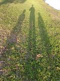 1 2 και 3 Είναι εγώ και οι μικρές ανηψιές μου Στοκ Φωτογραφίες