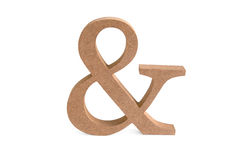 Και ξύλινο σημάδι Στοκ Εικόνες