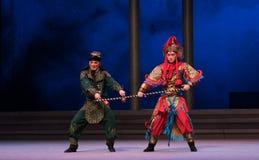 """Και οι χελώνες ανταγωνίζονται - οι έκτες υπερχειλίσεις χρυσό λόφος-Kunqu Opera""""Madame άσπρο Snake† νερού πράξεων Στοκ Εικόνες"""