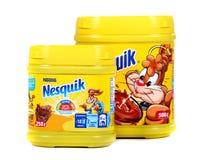 Κακάο της Nestle Nesquik στοκ φωτογραφία