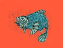 κακά ψάρια Παχιάα ψάρια Στοκ εικόνες με δικαίωμα ελεύθερης χρήσης