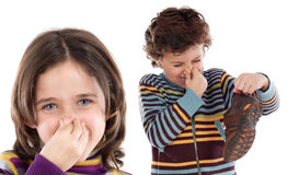 κακές μυρωδιές Στοκ εικόνες με δικαίωμα ελεύθερης χρήσης