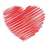 κακογραφία καρδιών ελεύθερη απεικόνιση δικαιώματος