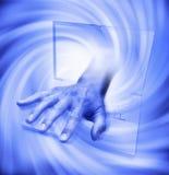 κακός ιός τεχνολογίας υ& Στοκ Φωτογραφία