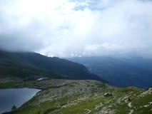 κακός καιρός ιχνών βουνών ο Στοκ Φωτογραφία