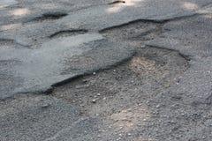 Κακός δρόμος Στοκ φωτογραφίες με δικαίωμα ελεύθερης χρήσης