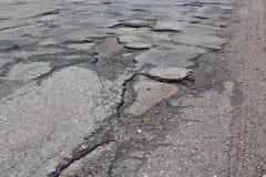 Κακός δρόμος Στοκ εικόνες με δικαίωμα ελεύθερης χρήσης