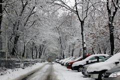 Κακός χειμερινός καιρός Στοκ εικόνες με δικαίωμα ελεύθερης χρήσης