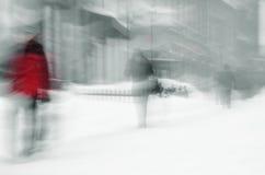 Κακός χειμώνας Στοκ Φωτογραφίες