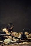 Κακό κορίτσι Στοκ φωτογραφία με δικαίωμα ελεύθερης χρήσης