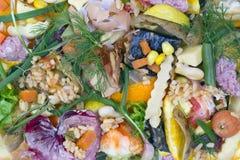 Κακό υπόβαθρο τροφίμων Στοκ Φωτογραφία