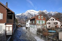 κακό ragaz Ελβετία στοκ φωτογραφίες με δικαίωμα ελεύθερης χρήσης