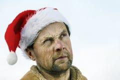 κακό santa Στοκ Φωτογραφίες