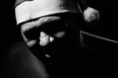 κακό santa Claus Στοκ Φωτογραφίες