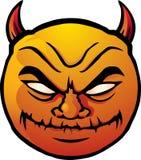 κακό smiley Στοκ εικόνα με δικαίωμα ελεύθερης χρήσης