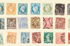 Κακώς φροντισμένος για τη συλλογή γραμματοσήμων στοκ φωτογραφίες