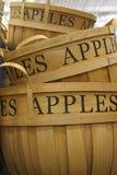 καλάθια μήλων στοκ εικόνες με δικαίωμα ελεύθερης χρήσης