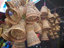 καλάθι ινδικού καλάμου προϊόντων στοκ φωτογραφία