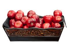 καλάθι μήλων Στοκ εικόνα με δικαίωμα ελεύθερης χρήσης