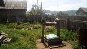 Καλά στο του χωριού ναυπηγείο στοκ φωτογραφία