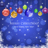 Καλά Χριστούγεννα 1 Στοκ Φωτογραφίες