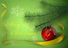 Καλά Χριστούγεννα Στοκ Εικόνα