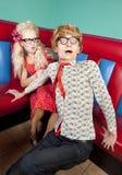 Καλά nerds Στοκ Εικόνες