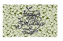 Καλές διακοπές διάνυσμα προτύπων Στοκ Εικόνες