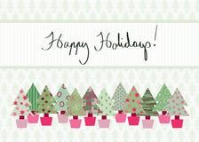 Καλές διακοπές κάρτα Στοκ Εικόνα