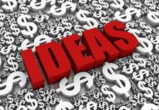 καλές ιδέες Διανυσματική απεικόνιση